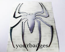 Spider Epoxy Sticker Chrome Car Sticker Decal badge Alfa Romeo
