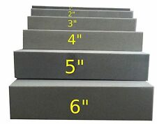 "3""x24""x82"" Firm Foam Rubber Replacement Sheet-Great for boat seats and benches!"