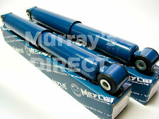 PAIR MEYLE Rear Shock Absorbers - VW T25 Type 25 Camper Van Westfalia 1980-1992