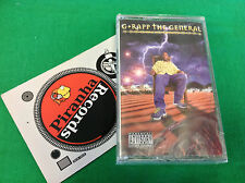 G-Rapp The General Military Mindz Cassette Tape NEW Beatbox BTB 4139 4 Piranha