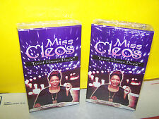 LOT OF 2  - Miss Cleo's Tarot Cards Power Decks Psychic Fortune Telling