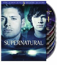 Supernatural TV Series Complete Second Season 2 Box / DVD Set NEW!