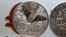 3 euro 2016 Austria Autriche Österreich Pipistrello Fledermaus Bat chauve-souris