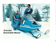 SNOJET ASTROJET SS SST PARTS MANUALs 300pg for 1974 1975 1976 Snowmobile Service