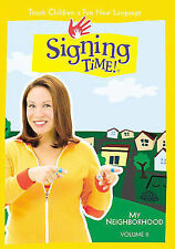 Signing Time! Vol. 11 - My Neighborhood (DVD, 2006) NEW