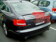 Unpainted Audi 2005~2008 A6 C6 sedan trunk lip spoiler◎