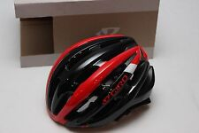 New Giro Foray Bike Helmet Bright Red Black Medium Road Vented Race Cycling