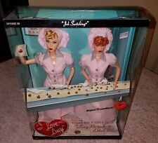 I Love Lucy Job Switching Lucy Ethel Barbie Dolls Candy Factory Episode #39
