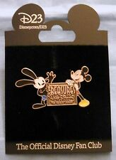 D23 Treasures of Walt Disney Archives Reagan Library Oswald and Mickey Mouse Pin