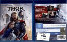 THOR THE DARK WORLD - BLU-RAY NUOVO E SIGILLATO, PRIMA STAMPA, NO EDICOLA