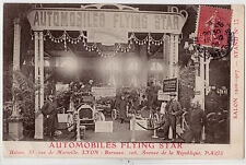 CPA - 69 - LYON - Stand Automobiles FLYING STAR - Salon de 1906-07.