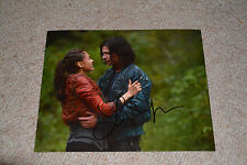 LINDSEY MORGAN signed  Autogramm 20x25  In Person THE 100 Raven