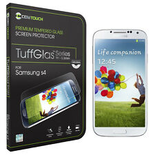 CENITOUCH® Original Tempered Glass Screen Protector Film for Samsung Galaxy S4