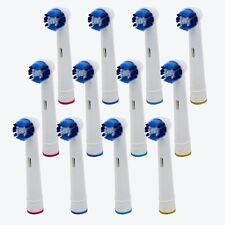 4 x Vitality Precision Clean Electric Tooth brush Heads Replace For Braun Oral B