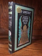 COMPLETE CTHULHU MYTHOS TALES by HP LOVECRAFT Leather Bound & NEW IN SHRINK
