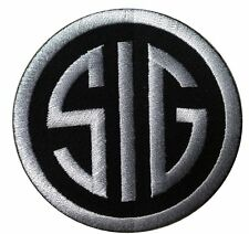 SIG  SAUER IRON ON FIREARMS SUBDUED ACU GUN MORALE  PATCH
