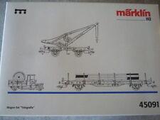 """Märklin  45091  """" LEERKARTON """" für  Wagenset Telegrafie"""