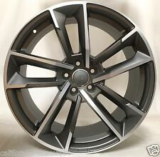 "21"" WHEELS RIMS FOR AUDI A6 A7 A8 RS6 Q5 Q7 VW CC 21X9.5 ET.33 5X112"