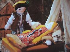 Vintage SEWING PATTERN Jean Greenhowe SLEEPING BEAUTY & THE PRINCE Doll Toy