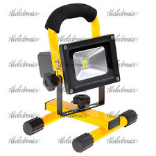 10W LED Flood Light Portable Rechargeable MAGNET FOOT Flood Light Lamp IP65