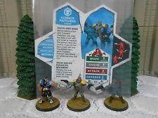 Heroscape Custom Cossack Pistoliers Double Sided Card & Figure w/ Sleeve Jandar