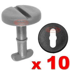 BMW FLOOR CARPET MAT CLIPS GREY TWIST LOCK WITH WASHERS E34 E38 E39 E46 3 5 7