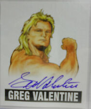 2012 Leaf Originals Wrestling Greg Valentine Auto Autograph # GV1 - On Card Auto