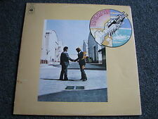 Pink Floyd-Wish you were here LP-1975 Israel-Rock-CBS 80955-Album-33 U/min