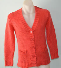 Tahlia Girls Cardigan  - Guava Colour - SIZE 10 YEARS - NEW