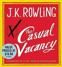 "J.K. ROWLING ""THE CASUAL VACANCY"" AUDIO CD UNABRIDGED 15 CD AUDIO SET"