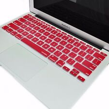 "WINE RED Silicone Keyboard Cover Skin for Latest Macbook Air 11"" Model A1465"