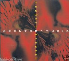 Agents Of Music feat. Susanne Schätzle - The Way To My Heart ♫ PROMO-CD 94 ♫ RAR