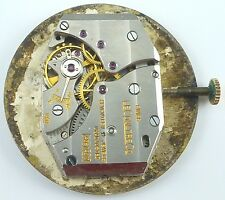 LeCoultre 438/4CW Watch Wristwatch Movement - Complete - Sold 4 Parts / Repair !