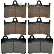 FRONT REAR BRAKE PADS YAMAHA XV1700 ROAD STAR 2004-2005 2007-2009 FRONT REAR