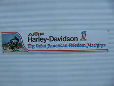 Original Harley-Davidson Poster The Great American Freedom Machines AMF #1 #259