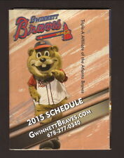 2015 Gwinnett Braves Schedule--Delta Community Credit Union