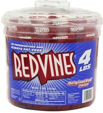 1.8 KG Red Vines Original Red Licorice Candy Tub - Super Fresh