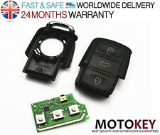 VW Skoda Seat 3 buttons FOB REMOTE Key 434MHz 1J0 959 753 AH CIRCUIT 434 MHz NEW