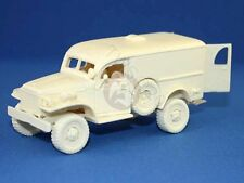 Tank Workshop 1/48 Dodge WC54 US 3/4 ton 4x4 Ambulance Truck WWII (Resin) 48058
