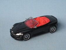 Matchbox Aston Martin Dbs Volante Cabrio Convertible Negro Coche Deportivo Modelo de juguete