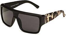 Men's Quay Eyewear Australia 1550 Occhiali da Sole-Nero & mimetica *** NUOVO ***