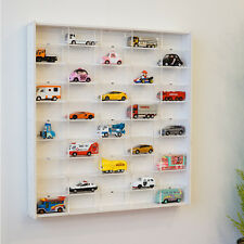 [NEW]50 Mini Car(Tommy Car) Display Case for  collection with Sliding Door_White