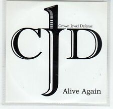 (EF555) Crown Jewel Defense, Alive Again - 2013 DJ CD