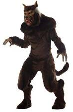 HALLOWEEN PROP WEREWOLF ADULT DELUXE MASK AND COSTUME