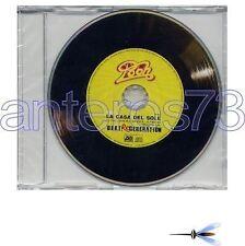 """POOH """"LA CASA DEL SOLE"""" 1° CDsingolo PROMO 2008"""