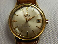 OMEGA SEA MASTER AUTOMATIC #583 GOLD FILED CASE 33 MM KEEPS GOOD TIME