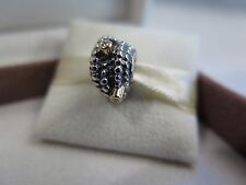 New w/BOX RARE Pandora Entangled Beauty w/ Diamonds & 14K  Charm 790277D Kerry's