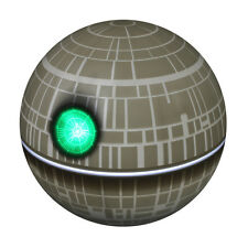Star Wars Glowing Death Star Mood Light USB Powered or Battery Desk Lamp