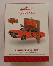 Hallmark 2014 Dukes of Hazzard Jumpin' General Lee Charger Christmas Ornament