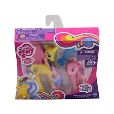 My Little Pony Princess Gold Lily&Pinkie Pie Figure Toy 2pc Set Boxed Kid Gift